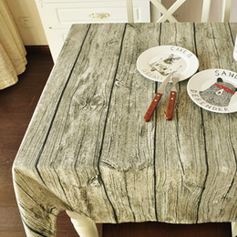 Wholesale linen cotton fabric Zakka flax bark cloth around the table cloth wood shooting background cloth