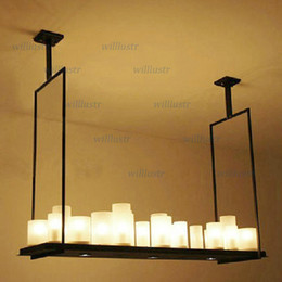 Modern Kevin Reilly Altar Modern Pendant lamp LED candle remote control chandelier Lighting Innovative metal fixture candle suspension lamp