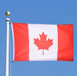Canadian Flag 90*150cm for World Cup   Activity   Parade   Festival Celebration Home Decoration Decor Canada National Flags