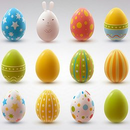 Wholesale Children s real wood simulation eggs handmade creative DIY material white blank painted kindergarten painting Easter eggs
