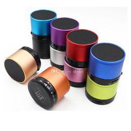 Wholesale S10 Bluetooth Speaker Fashion Universal Handfree Mic Stereo Portable Speakers TF Card Call Function DHL No Logo In Retail Box