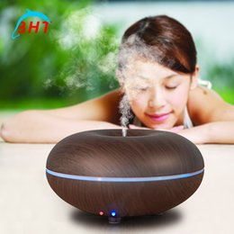 Wholesale Ultrasonic Automatic Mini Home Aroma Diffuser Electric Air Humidifier Led Essential Oil Diffuser Aromatherapy For Home Office