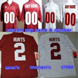 Wholesale custom Alabama Crimson Tide Jerseys Men women child youth kids Personalized shirt customized any name number sport College Football Jersey