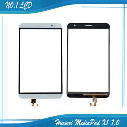 Скидка качество панели Оптово-Новая Original Для Huawei MediaPad X1 7.0 сенсорный экран Digitizer Замена X1 7D-501u Tablet Сенсорная панель высокого качества