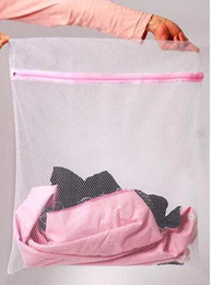 Wholesale 30 CM Washing Machine Specialized Underwear Washing Bag Bra Washing Care Laundry Bag in best price and Mesh Bag
