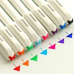 Wholesale x Korean Watercolor Pen Gel Pens Set Colors Kandelia Cute Little Stationery A