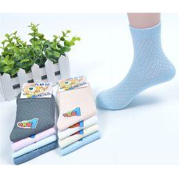 2017 garçons chaussettes d'été HOT Chaussettes en coton pour bébés Enfants Été Chaussettes résistantes à la poitrine 75% Chaussettes en coton pour garçons et filles Livraison gratuite budget garçons chaussettes d'été