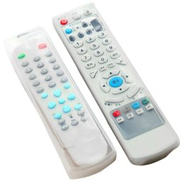 2017 silicone covers for remote controls Vente en gros - Housse de protection pour télécommande télécommandée à 2 PCS Silicone transparent promotion silicone covers for remote controls