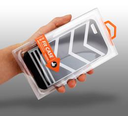 300pcs Wholesale LOGO Customize PVC Plastic Retail Packaging plastic Box for iPhone 7 7 plus case Inner Trays holder