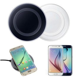 Compra Online Cargos cables iphone-2017 Cargador sin hilos del cargador del Qi ninguna carga rápida para el borde S7 S8 S8 S8 del borde S6 / S6 de Samsung con el cable del USB del paquete al por menor