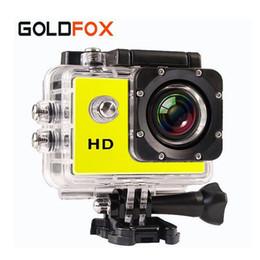 Promotion caméra de voiture de vélo Vente en gros- Nouveau GOLDFOX SJ 4000 Sport Mini caméra caméscopes caméra vidéo étanche 720p HD bicyclette casque photo caméra Go Car Pro Style