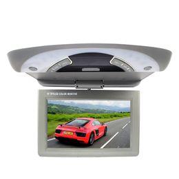 Consola gris en Línea-11 pulgadas / techo de succión de un coche superior monitor AV dvd TFT LCD 16:09