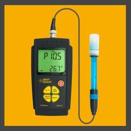 Descuento precio más bajo por mayor de china Venta al por mayor- China hizo precio bajo AR218 protable pH metros