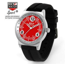 Wholesale 2017 pack post Six colors GT WATCH U S foreign trade explosion GT eBay racing watch speed through the supply factory direct sales