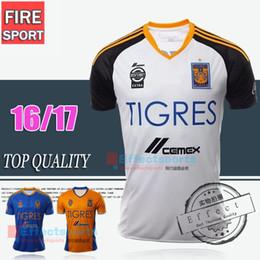 Wholesale Thailand Quality Copa America Tigres soccer jersey camisas de futebol Tigers GUERRON SOBIS GIGNAC shirts mexico club team