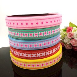 "10 yards 1"" grosgrain ribbon printed DIY Weaving wedding christmas decorations for making hair bows R010"