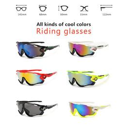 Gafas de sol de los deportes de la manera de la alta calidad hombres polarizados de las mujeres Intercambiable 3 Jawbreaker de la lente que completan un ciclo Eyewear con la caja