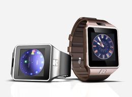 """Moniteur de sommeil podomètre en Ligne-DZ09 Bluetooth Smart Watch Smartwatches avec moniteur de sommeil de l'appareil photo MT6261 1,54 """"IPS Display Pedometer Fitness Tracker pour Android Smart Phone"""