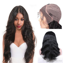 Hand Tied Body Wave 130% Density Lace Front Human Hair Wigs Brazilian Remy Hair Pre Plucked Natural Hairline With Baby Hair Free Shipping