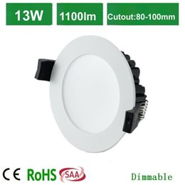 Wholesale 13W led Dimmable downlight kit including led driver cutout mm LED beam SMD led lamp with AUSTRALIA plus comply with clipsal