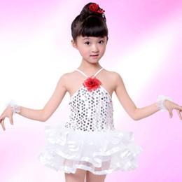 Inventario libre en Línea-2017 color caliente del caramelo de los niños del cisne del ballet del ballet de los niños de los tallarines de la falda del ballet del vestido del baile del vestido del ballet de los niños