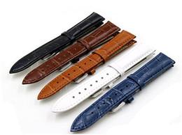 Promotion bracelet en cuir véritable Prix en gros multi-couleur slub embossé classique bracelet en cuir véritable bracelet en bambou montre sangles avec boucle en acier inoxydable