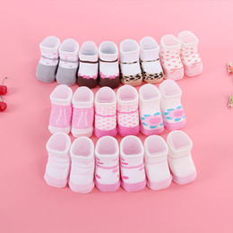 Buy 10 Send 1 0-6M T Mom Favorite Contracted Contracted Style Girl Baby Booties Cute Cotton Socks Breathable Baby Socks Spring And Autumn