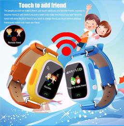 Descuento dispositivo de niño perdido GPS Q90 Pantalla táctil WIFI Posicionamiento Smart Watch Niños SOS Llamada Ubicación Finder Dispositivo Tracker Kid Safe Anti Lost Monitor Smart Clock