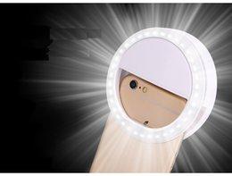 Compra Online Anillo de luz led de la cámara-Hot Selling Portable Flash 36 Led Cámara Aumento de Fotografía Selfie anillo de luz para el iPhone de Smartphone y Samsung Galaxy