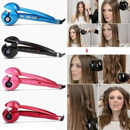Wholesale Automatic curl is very scattered workpiece automatic device without injury to the rolls of ceramic hair curling iron pear flowers quickly