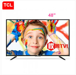 2016 tv lcd 55 TCL 48 pouces Andrews TV intelligente intégrée WIFI LED LCD TV Hélas! Résolution 1920 * 1080 Full HD TV Livraison gratuite budget tv lcd 55