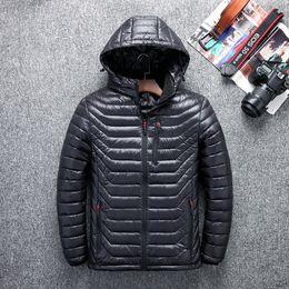 New arrived men down jacket winter jacket men men warm coat jacket 90% duck down hooded 517
