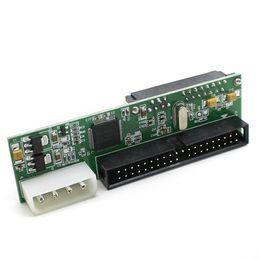 """Pata ide dvd en Línea-Venta al por mayor- más reciente JM20330 Chipset 3.5 """"HDD SATA a IDE / PATA Convertidor Adaptador de tarjeta Convertidor Cable (SATA DVD Burner a IDE Interface MBs)"""