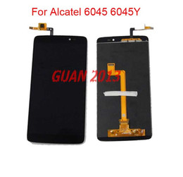 Wholesale For Alcatel One Touch Idol OT K Y LCD Screen Digitizer Assembly Replacement Fast Shipping Black
