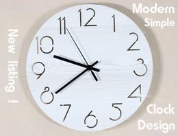 Wooden Decorative Wall Clock Craft Clock gift creative clock home decorative design
