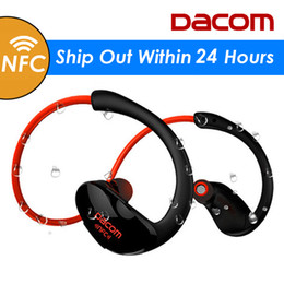 Dacom G05 Athlete Bluetooth Headset Wireless Headphone BT4.1 Sports Stereo Earphone with HD Mic NFC auriculares for iPhone Samsung
