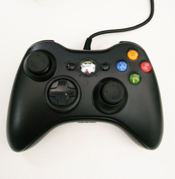 Wholesale XBOX PC wired controller New USB Wired Gamepad Controller For Xbox and PC Windows Black