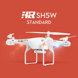 Wholesale Camera Drones SH5W WiFi FPV Ghz CH Axis Quadcopter Drone HD Camera RC WOct20