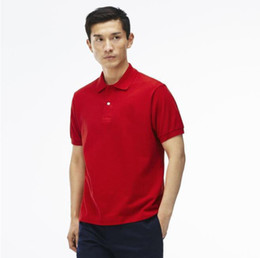 2017 Wholesale Summer Men's Polyester Polo shirt Quick Dry Embroidery Crocodile Logo Casual Shirt LS plus size 6XL Free shipping