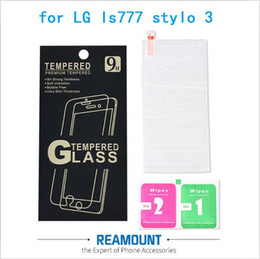 9H Tempered Glass Premium Explosion-proof Screen Protector Film Guard for lg stylo 3 Film with Paper Box