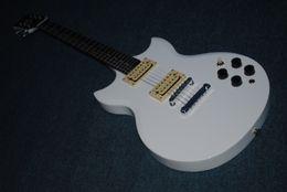 2017 guitarra corte envío libre La madre cutaway doble de la guitarra eléctrica 2006 New + Factory + Yamaka SG 200 de la guitarra eléctrica del SG 200 de los inalys del headstock de la perla libera el envío descuento guitarra corte envío libre