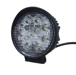4 inch 27W 4 inch LED Work Light Flood Driving Lamp for Car Truck Trailer SUV Offroads Boat 12V 24V 4WD