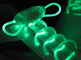 Factory Wholesale good quality flashing shoelaces,glow in the dark shoe laces,glow shoelaces,Disco Party Skating Sports Glow strings