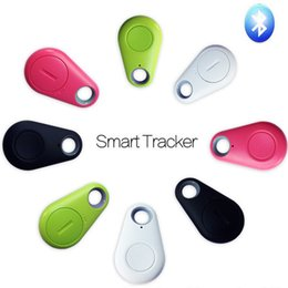 2017 enfants finder Vente en gros- Smart Child Bag Portefeuille Key Finder GPS Locator Alarme GSM Système d'alarme Hot Smart Tag Bluetooth Tracker enfants finder sortie