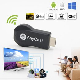 Compra Online Androide tv stick dlna-AnyCast M2 Plus Airplay 1080P WiFi WiFi TV TV Dongle Receptor HDMI TV Stick DLNA Miracast Para Android Teléfonos Inteligentes Tablet PC