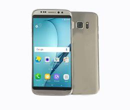 Wholesale GLA Goophone S8 Best Clone Version Phone MTK6580 G Ram GB Rom MP Camera Pixels Show G ram G rom Smartphone