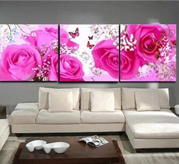 Flowers Picture Painting Oil Painting Canvas Home Deco
