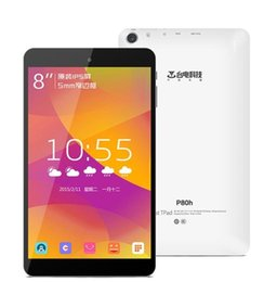 Ips tableta al por mayor en venta-PC al por mayor de la tableta de Teclast P80h 8 pulgadas del androide 5.1 MTK8163 64bit Quad Core WXGA IPS pantalla 1280x800 1GB RAM 8GB ROM WiFi GPS Bluetooth 4.0