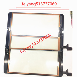 For iPad Mini 1   2 Touch Screen Digitizer Assembly with IC with Home Button outer Glass Touch Panel Replacement
