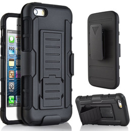 Verizon Holster Combo Case for Apple iPhone 7 plus 6s 5se Kick-Stand Belt Clip Hybrid Tough Armor Back Cover for Samsung Galaxy S6 S7 edge